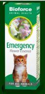 Emergency Flower Essence For Pets 30ml Bioforce