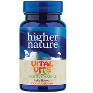 Vital Vits Chewable Multivitamin for kids 30 fruity tablets