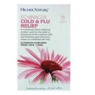 Echinachea Cold & Flu Relief 30 Capsules Higher Nature
