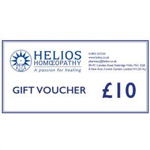 Helios Gift Voucher £10